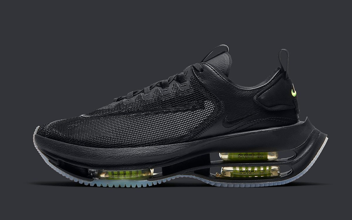 """Nike Zoom Double Stacked """"Black Volt"""" Debuts on July 2nd"""