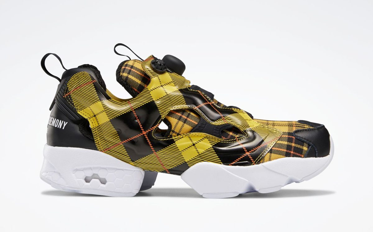 Opening Ceremony Goes Grunge with Two-Piece Plaid Pack of Reebok Instapump Furys