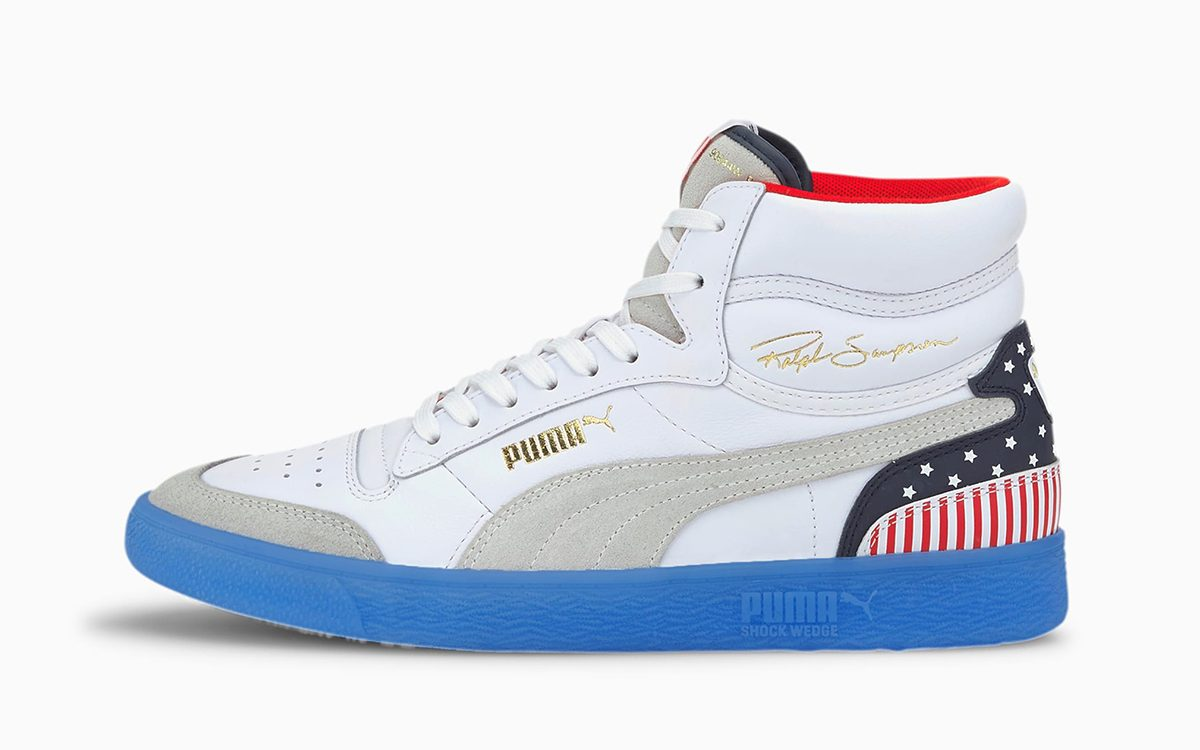 "PUMA Ralph Sampson Mid ""4th of July"" Arrives in Time for the Fireworks"