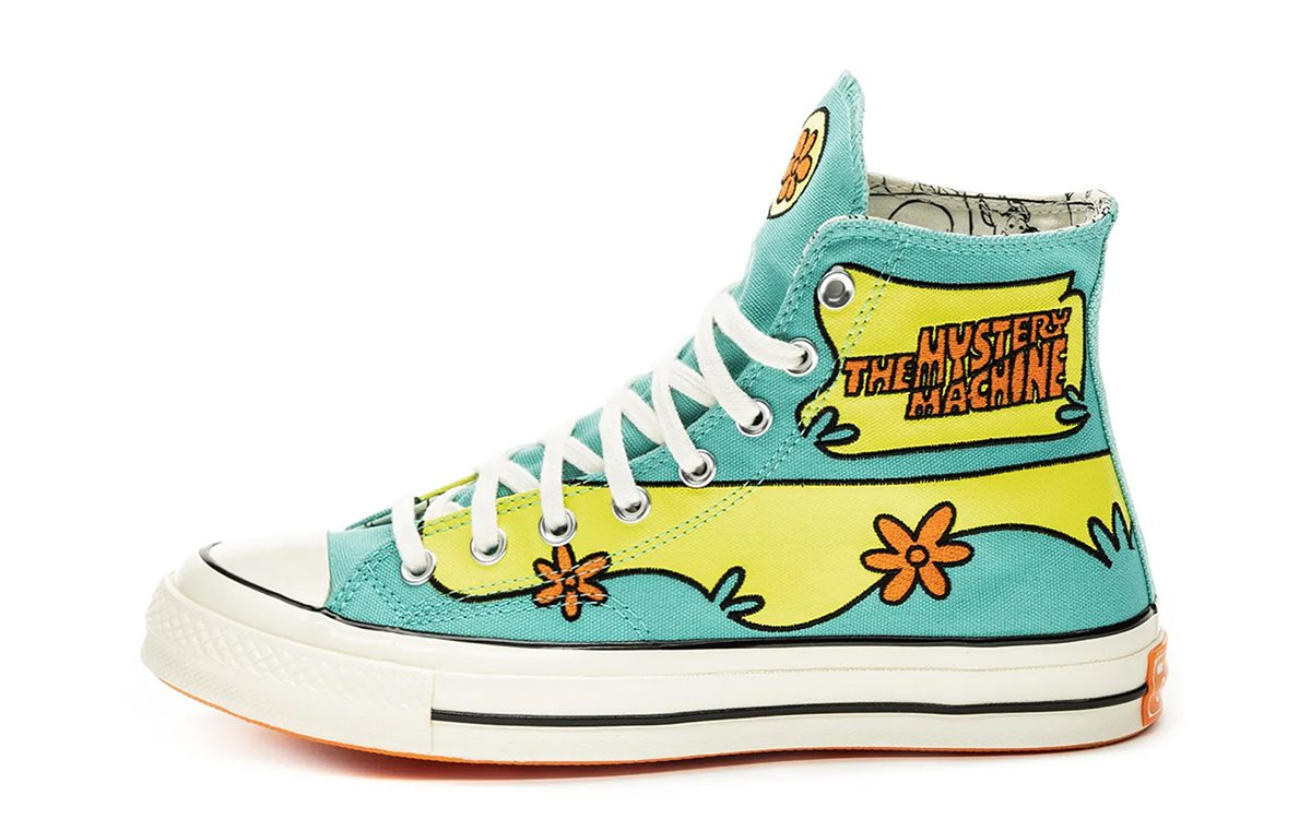 Scooby-Doo and Converse to Release Two Themed Chuck 70s