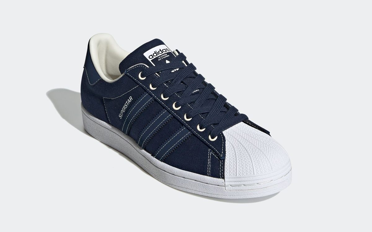 adidas Superstar Canvas Comes-Up in Two Selections for Summer