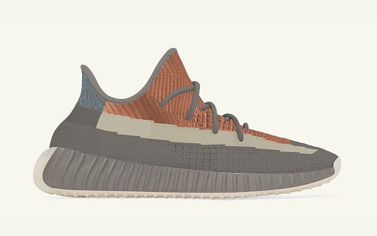 New adidas YEEZY 350 V2 Gears Up in Grey and Orange