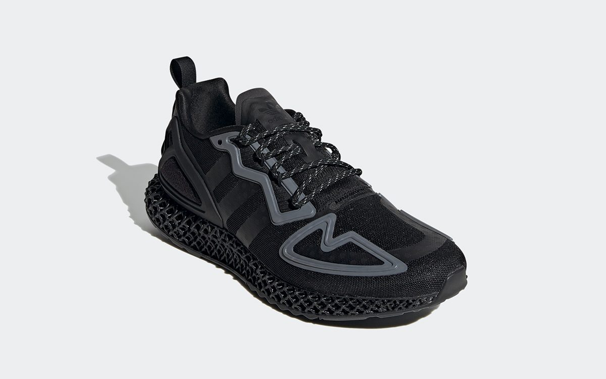 The adidas ZX 2K 4D Appears in Jet Black