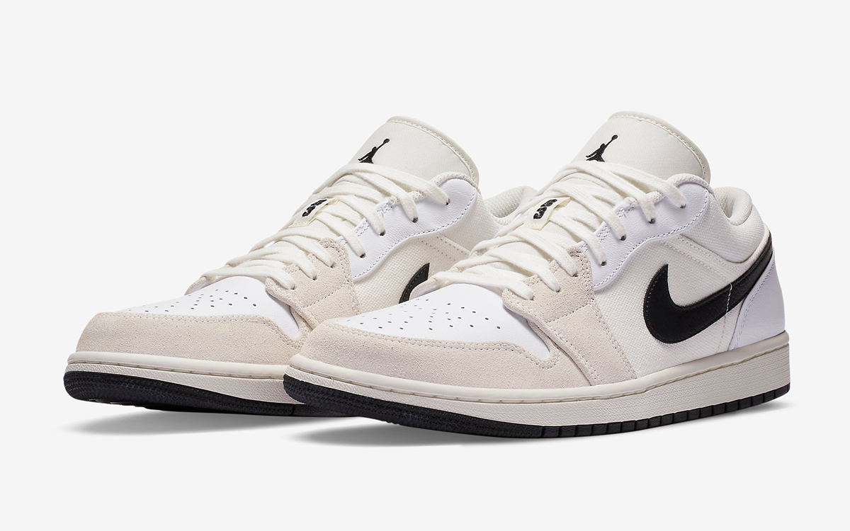 The Air Jordan 1 Low Appears in Muted Hues and Mismatched ...