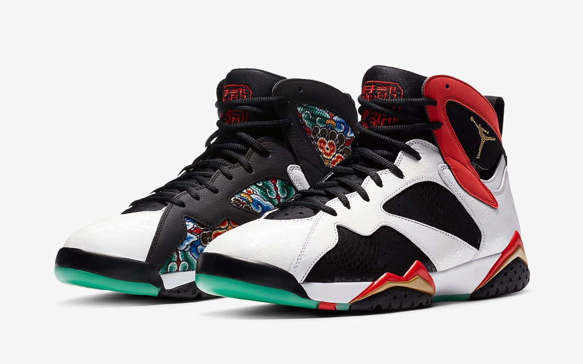"First Looks at the Air Jordan 7 ""China"""
