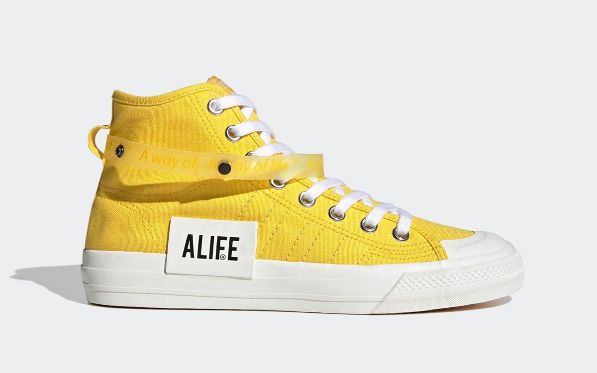 New York's Alife Notch Up Two More Options of Their adidas Nizza Collaboration