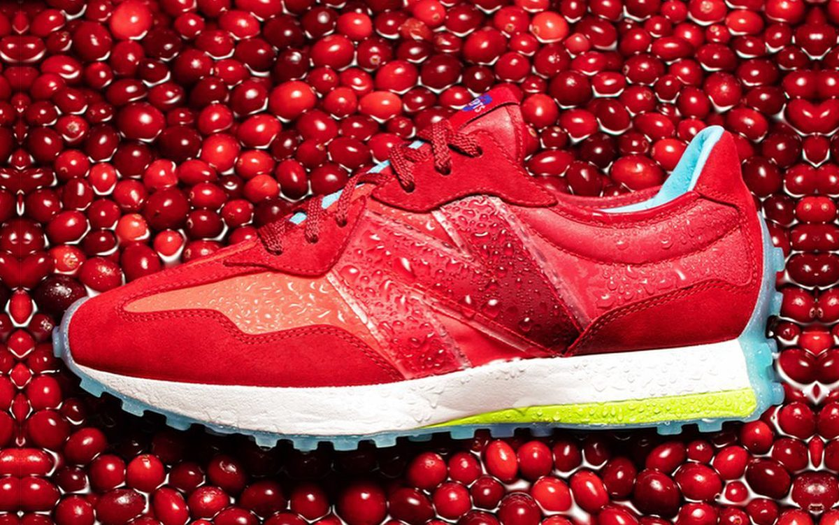 """Concepts x New Balance 327 """"Red Devil"""" Inspired by Neighbouring Ocean Spray"""