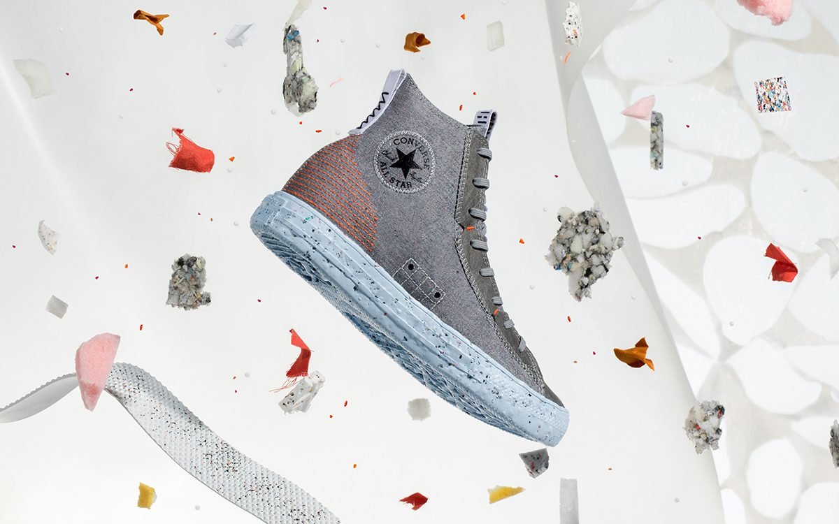 Converse Join Nike's Space Hippie Lineage with Chuck Taylor All-Star Crater