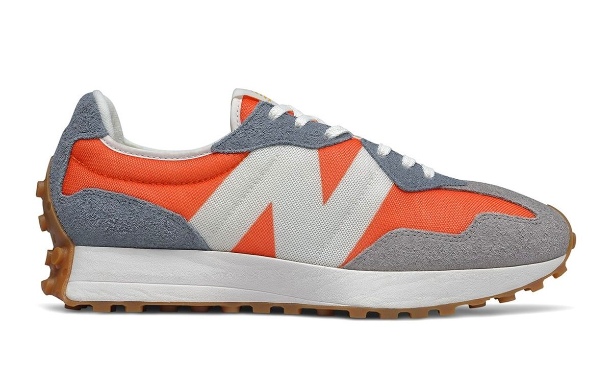 Orange and Grey New Balance 327 Gears Up for July 11th Release