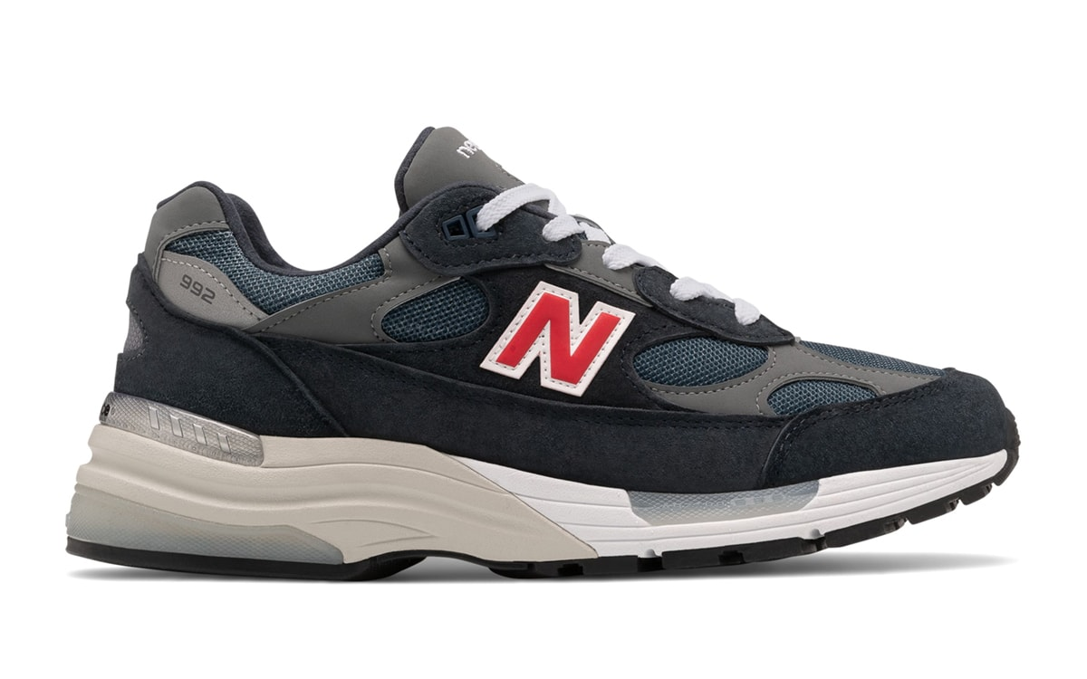 New Balance 992 Appears in Navy, Grey