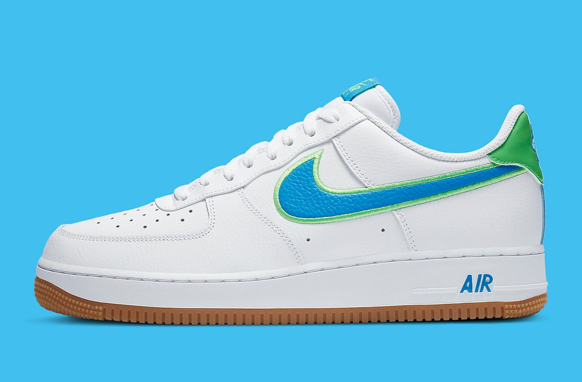 Colorful New Air Force 1 Low Gears Up