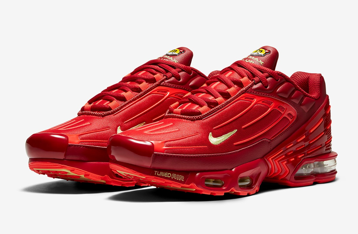 """Nike Air Max Plus 3 """"Iron Man"""" On the Way! 