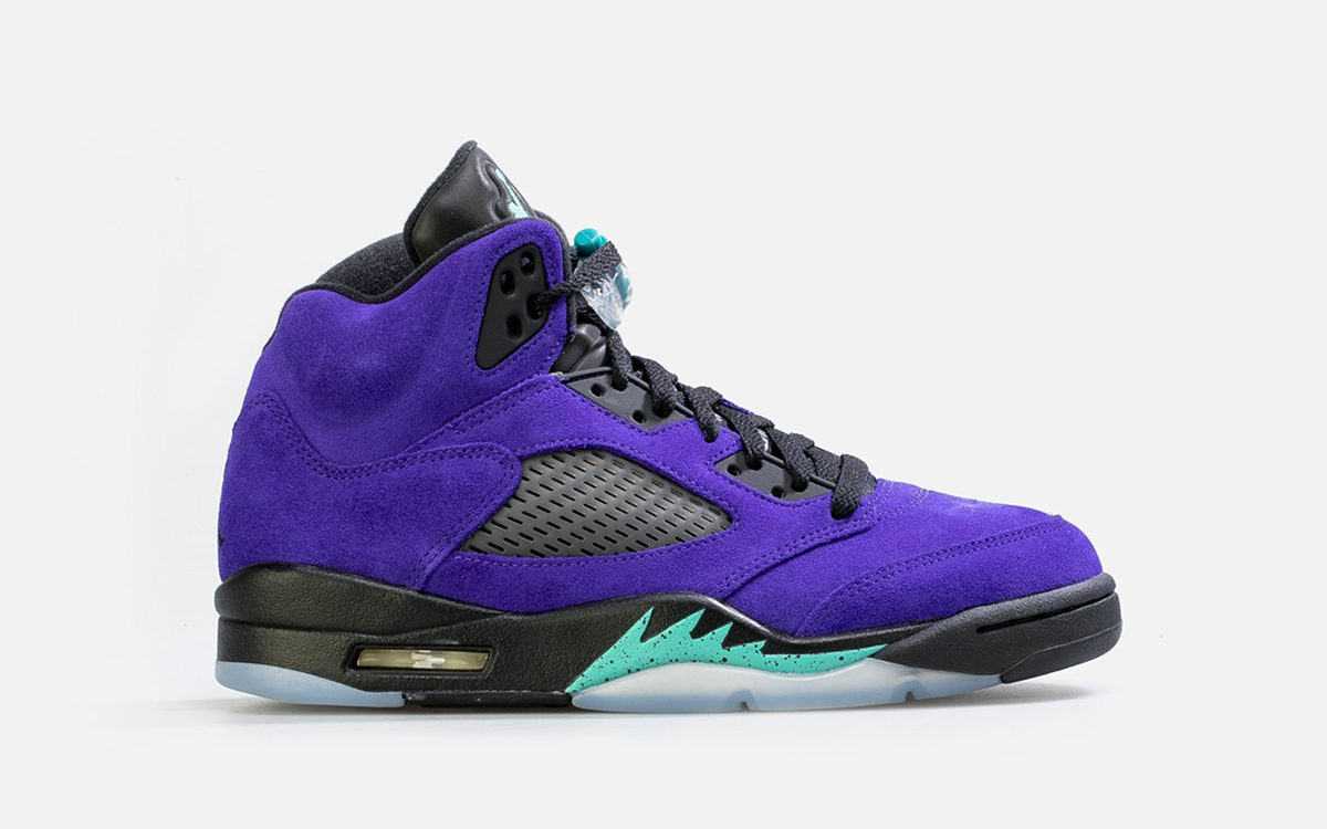 "Where to Buy the Air Jordan 5 ""Purple Grape"""