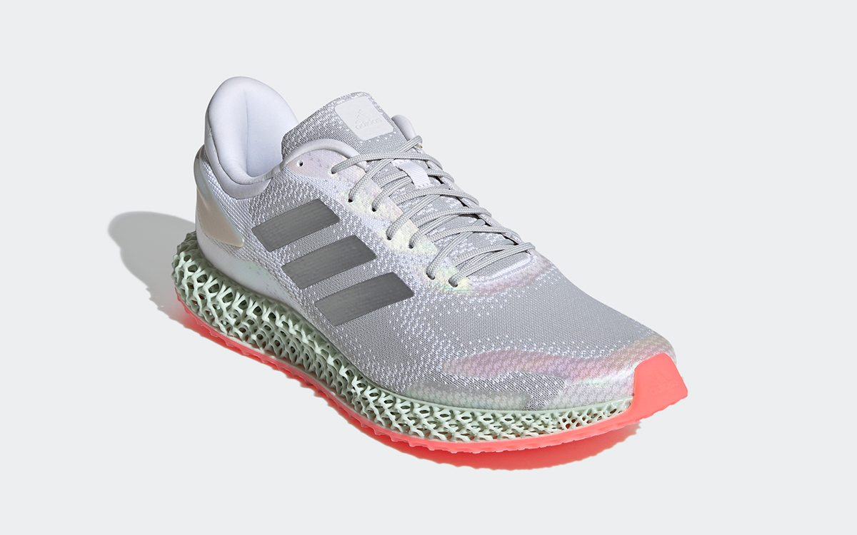 adidas Tacks-On Salmon Pink Soles to the 4D Run 1.0