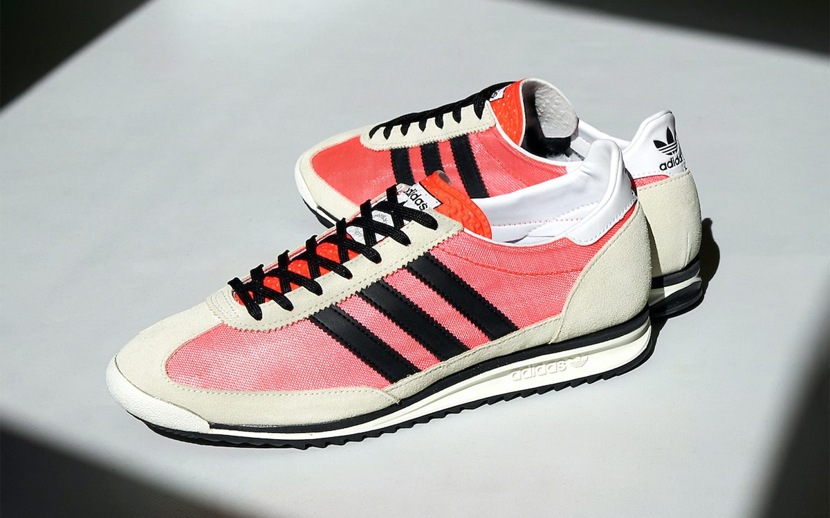 """Available Now // adidas SL 72 """"Solar Red"""""""