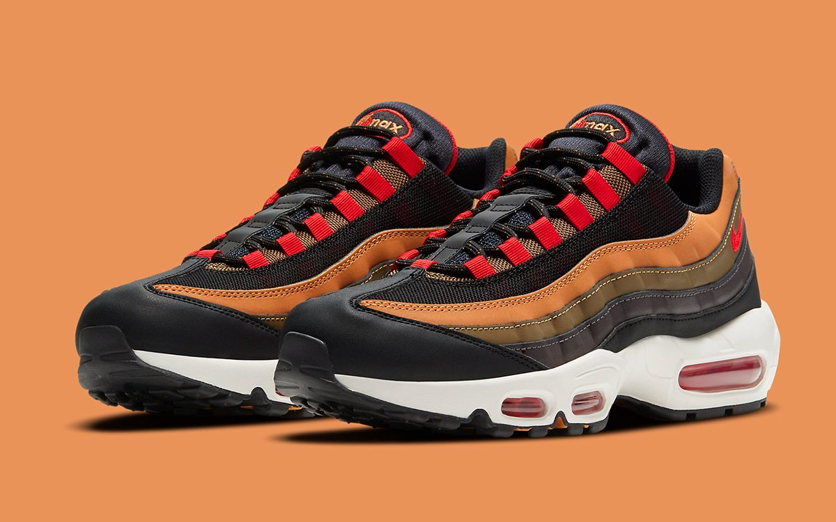 Available Now // The Air Max 95 Returns to its ACG Roots with Another Outdoor-Inspired Colorway