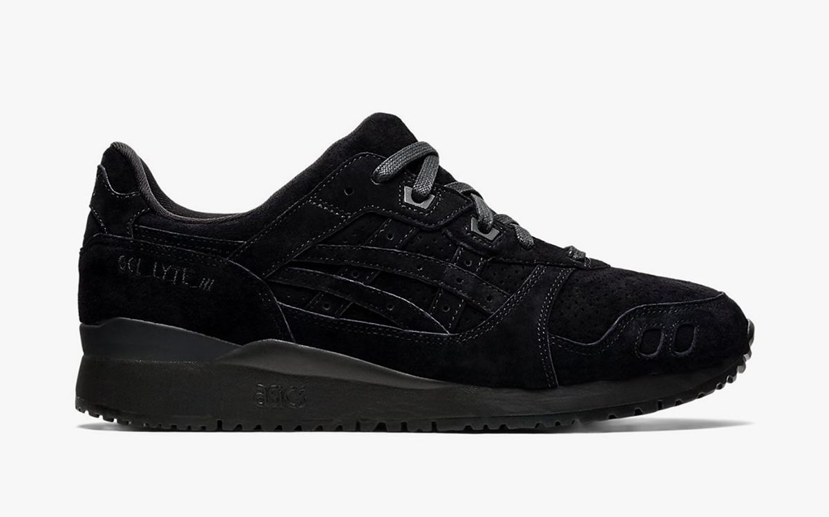 "ASICS GEL-Lyte III ""Triple Black"" is Available Now!"