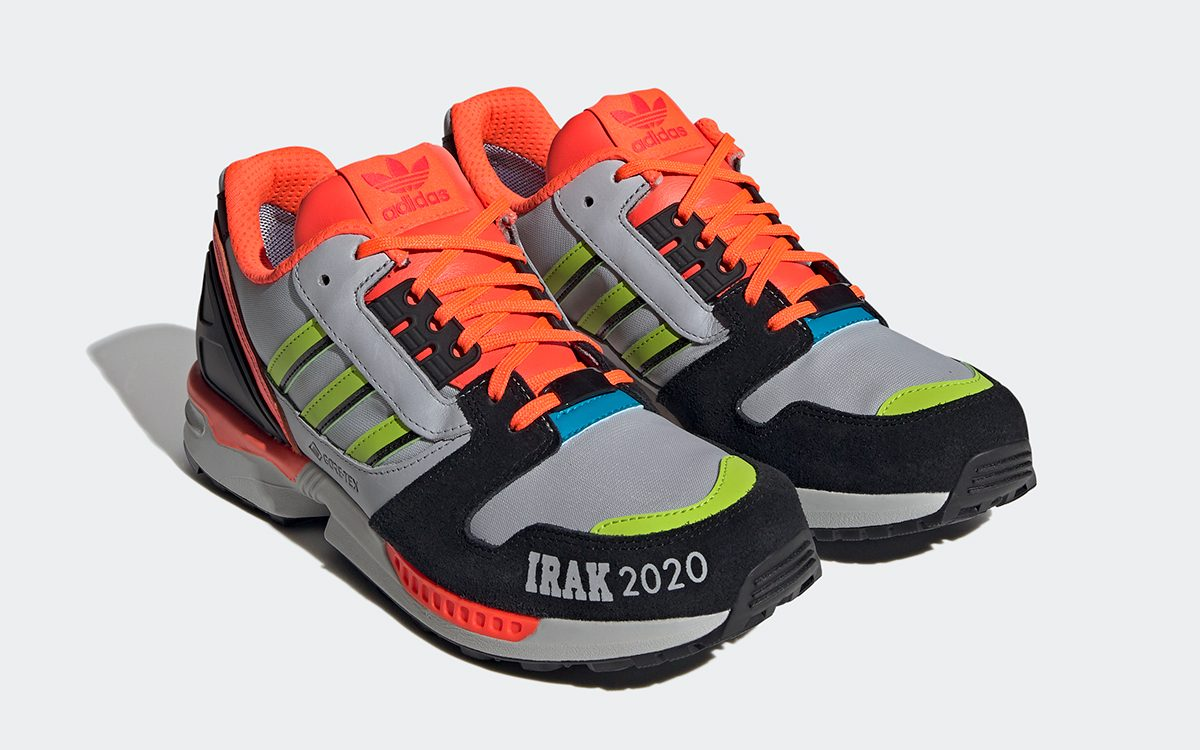 The Epic A-ZX Series Continues with Two IRAK x adidas ZX 8000 Options