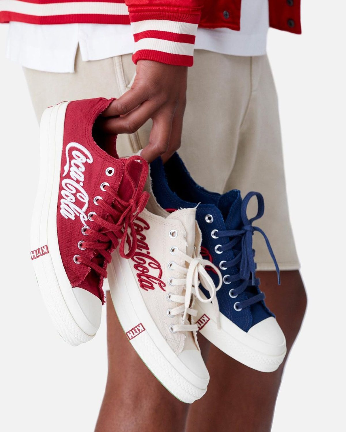 KITH and Coca-Cola Release Their Trio of Low-Top Chuck 70s on August 15th