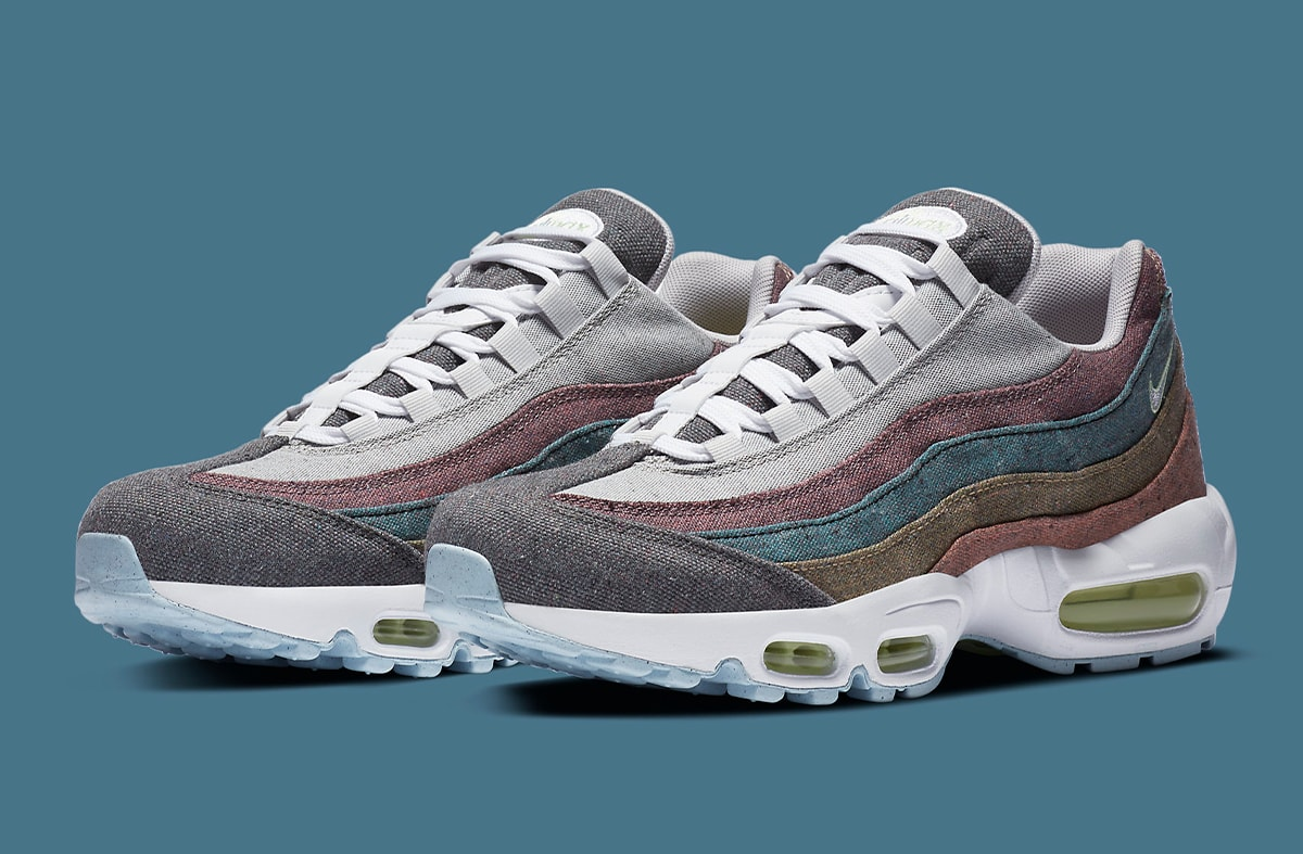 delincuencia Viaje inercia  Nike Gets Earth-Friendly on this Air Max 95 NRG
