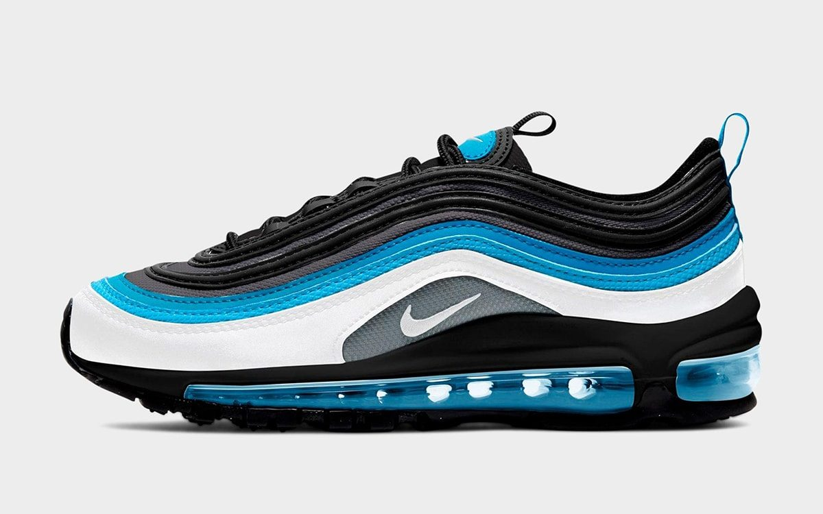 "conducir arrastrar Crítico  Available Now // Nike Air Max 97 GS ""Laser Blue"" - HOUSE OF HEAT 