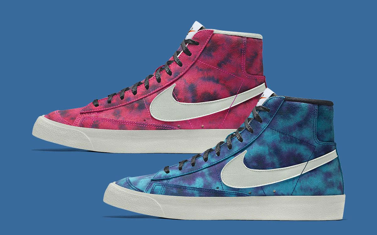 Customize the Blazer Mid '77 with Tie-Dye Patterns Now on Nike By You