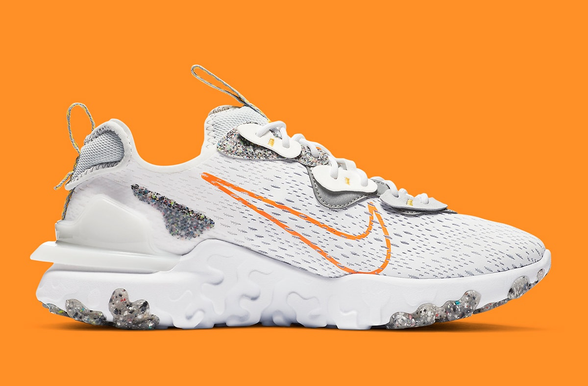 The Nike React Vision Gears Up With Recycled Grind Rubber   HOUSE ...