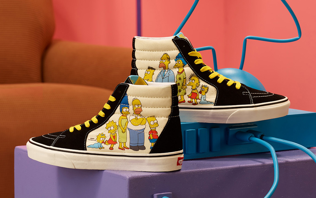 Epic The Simpsons x Vans Capsule Releases August 7th