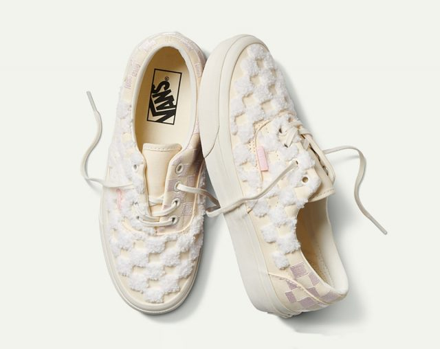 Vans Construct their Inside Out Pack in Arctic Pink Chenille