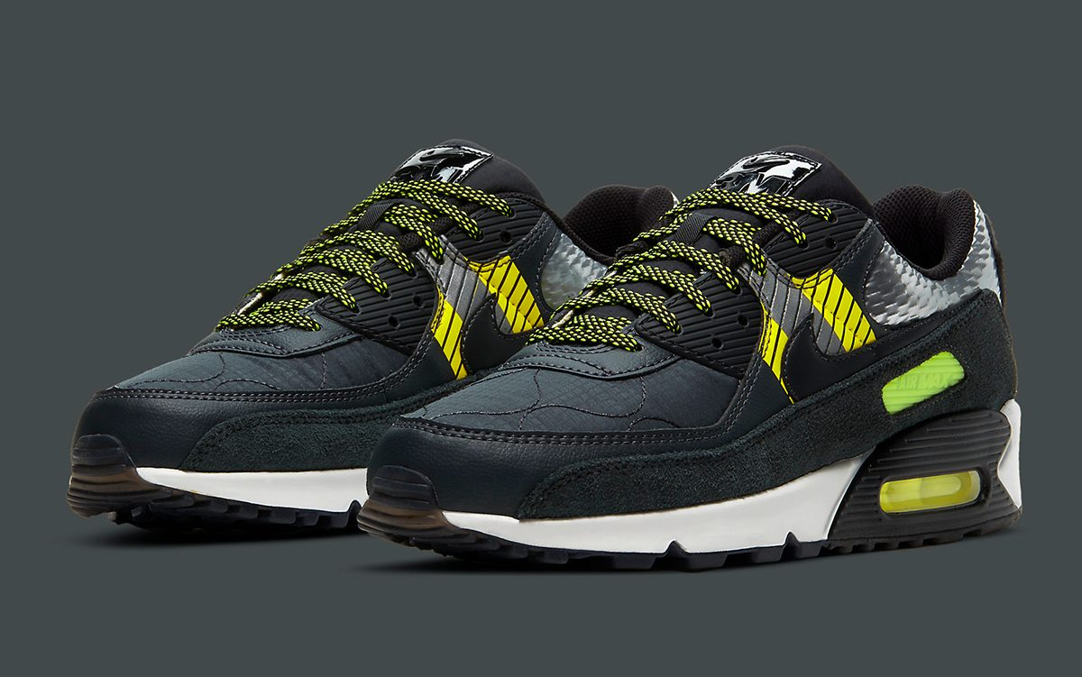 The 3M x Nike Air Max 90 is Overflowing