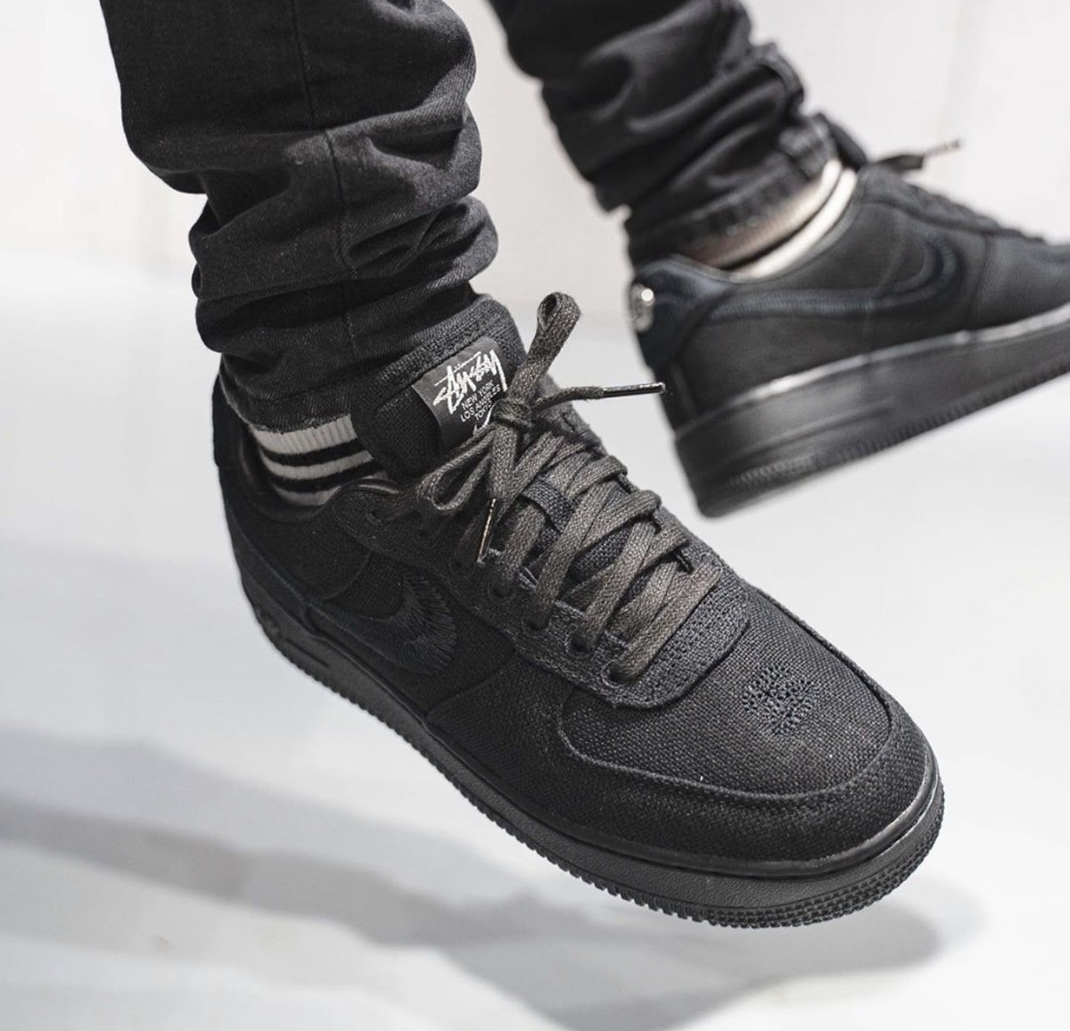 Stussy x Air Force 1 Collaboration
