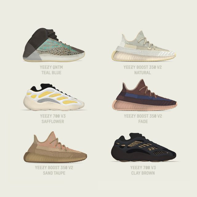 adidas Rename YEEZY's Biblical-Titled Releases
