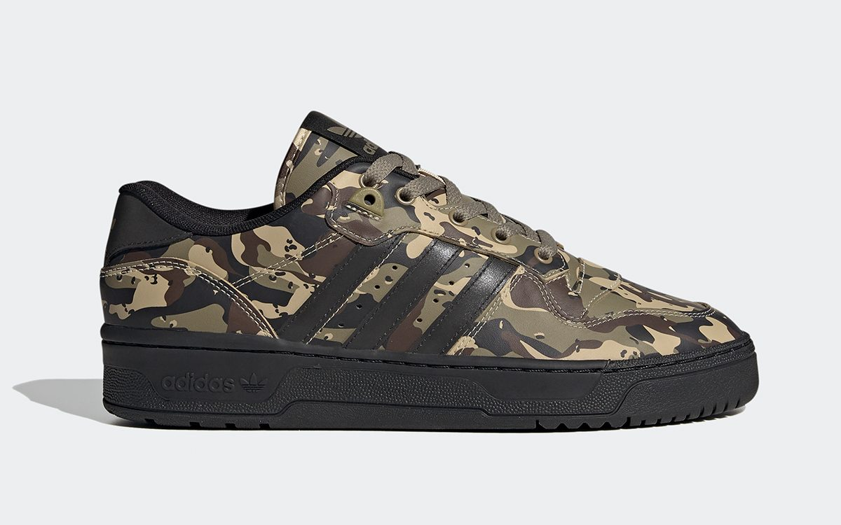"""Available Now // adidas Rivalry Low """"Camo"""""""