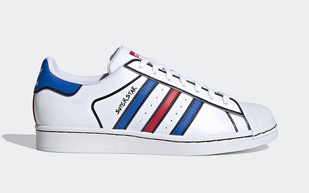 """Available Now // adidas Superstar """"Sharpie"""""""