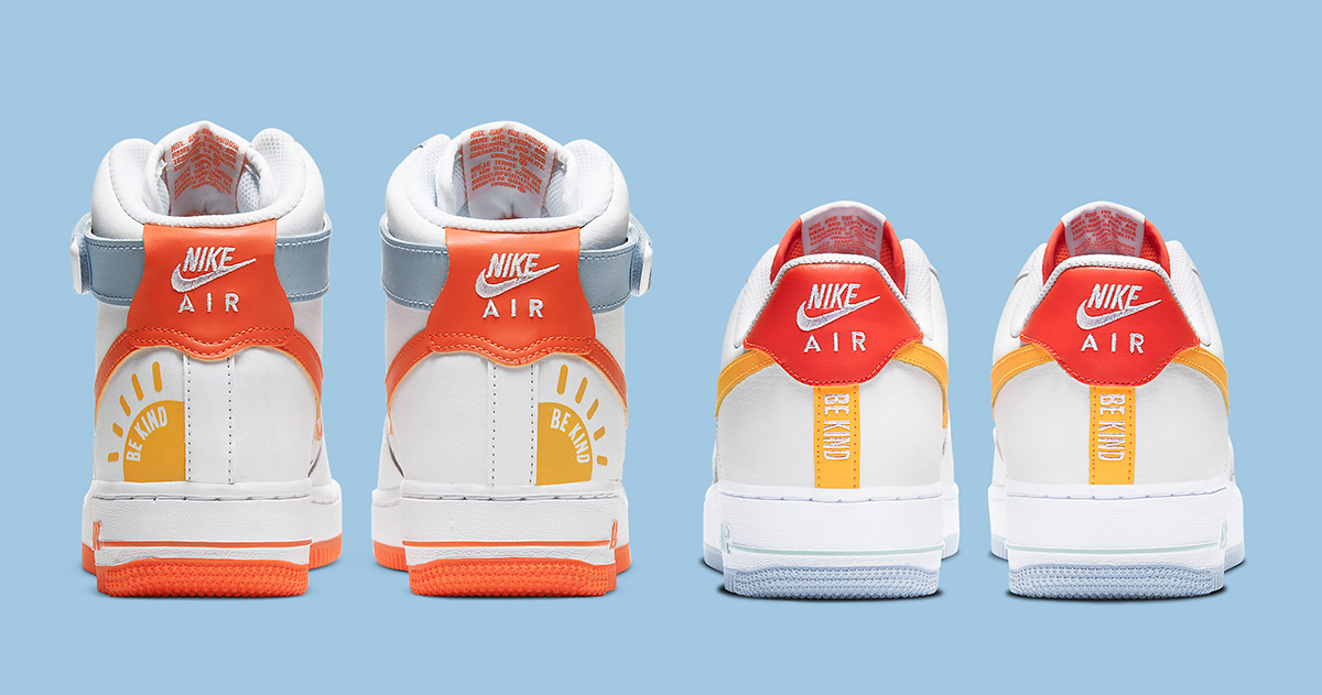 Available Now Nike Air Force 1 Be Kind House Of Heat Sneaker News Release Dates And Features The nike air force 1 shadow continues to expand on color options available. nike air force 1 be kind