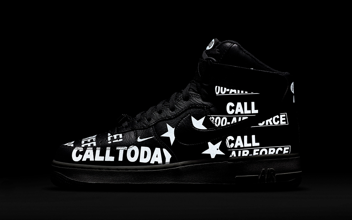 Telephone-Inspired Air Force 1