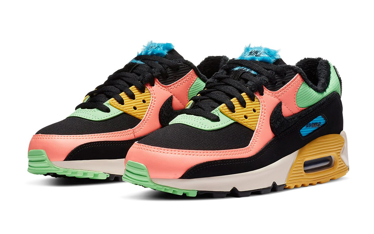 Available Now // More Multi-Color Fur Air Max Options Appear!