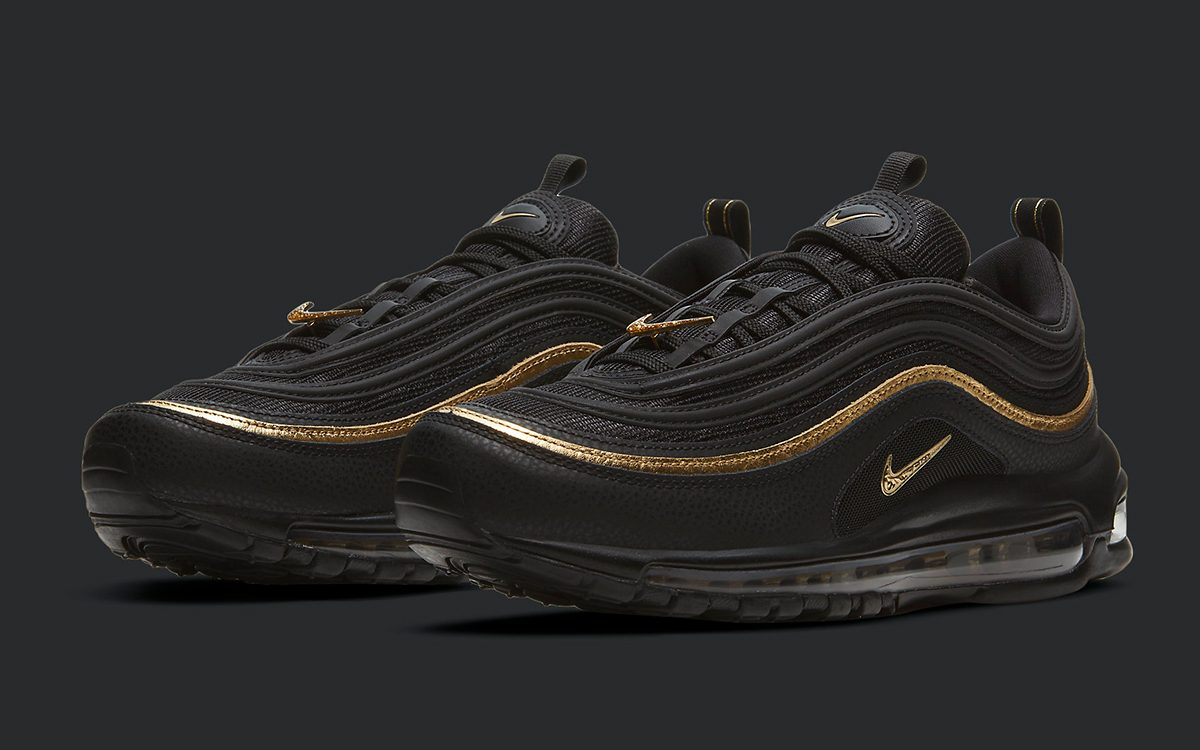 Air Max 97 is Back in Black and Metallic Gold on Nov. 9th