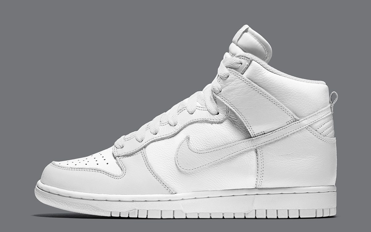"""Nike Dunk High """"Pure Platinum"""" Earmarked for November 13th Release"""