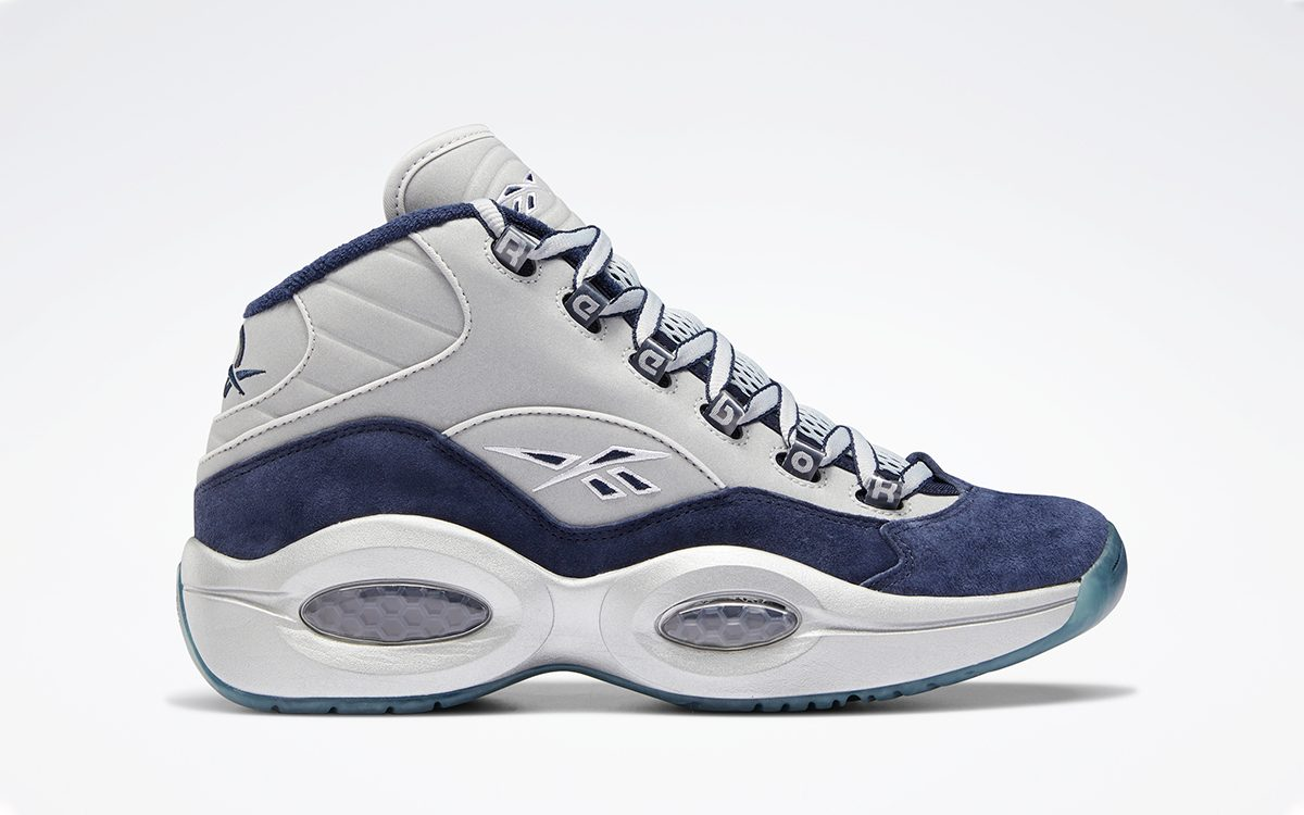 """Allen Iverson Honors His NFL Team with Reebok Question Mid """"Dallas Cowboys"""""""