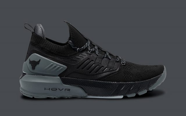 The Under Armour Project Rock 3 Debuts in Black/Grey on September 3rd