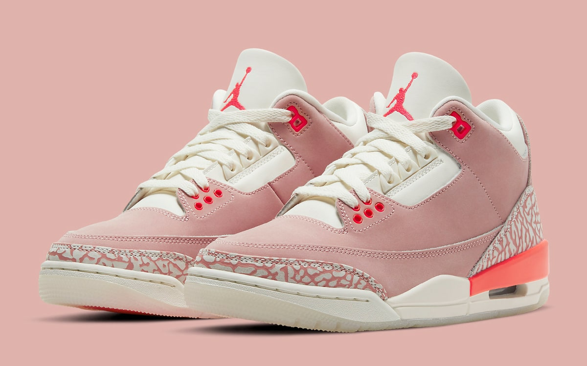 """Where to Buy the Air Jordan 3 """"Rust Pink"""" 