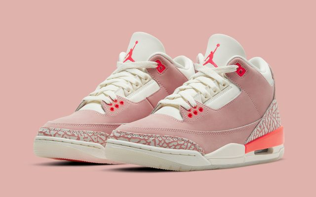 "Air Jordan 3 ""Rust Pink"" Expecting April 15th Release"