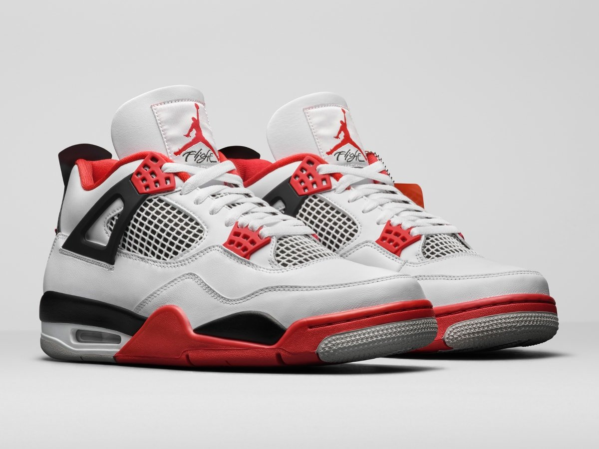 Official Looks At The Air Jordan 4 Fire Red Og House Of Heat Sneaker News Release Dates And Features