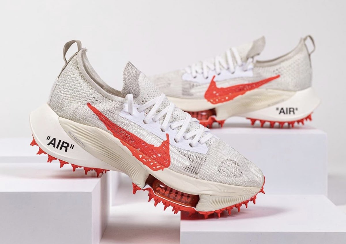 perdón Variedad periscopio  Detailed Looks // OFF-WHITE x Nike Air Zoom Tempo NEXT% Collection -  Evesham-nj | Sneaker News, Release Dates and Features