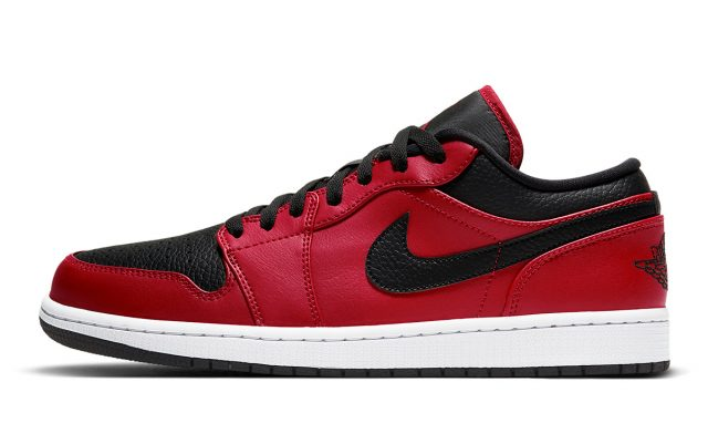 """Available Now // Air Jordan 1 Low """"Gym Red/Black"""""""