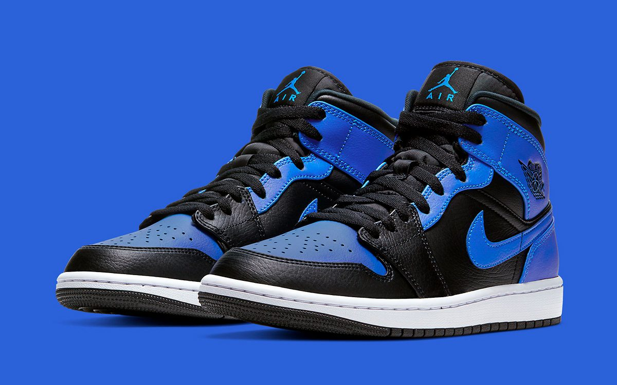 """Air Jordan 1 Mid """"Royal"""" Releases February 4th 