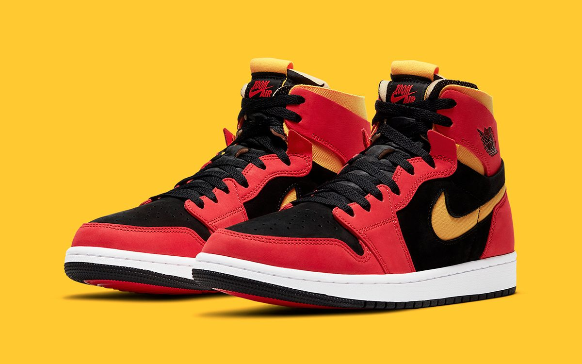 """Official Images // Air Jordan 1 Zoom Comfort """"Chile Red"""""""