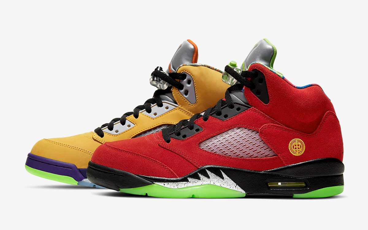 """Official Images // Air Jordan 5 """"What The"""""""