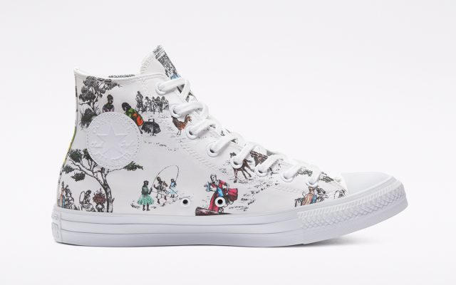 Converse and UNION Celebrate Sheila Bridges' Scenes of Harlem in Latest Collection